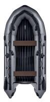 Надувная лодка ПВХ Apache 3700 НДНД графит