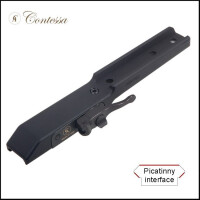 Быстросъемный кронштейн Contessa для установки прицелов Pulsar Trail/Apex/Digisight на Picatinny, SBP07