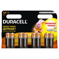 Щелочные батарейки Duracell Basic AA, 8УП