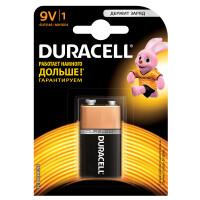 Щелочная батарейка Duracell Basic 9V Крона