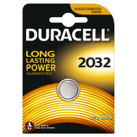 Литиевая батарейка Duracell 2032