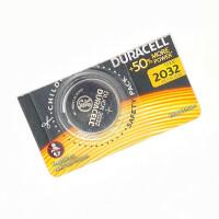 Литиевая батарейка Duracell 2032, отрывной набор