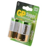 Батарейки GP Super D, BC2