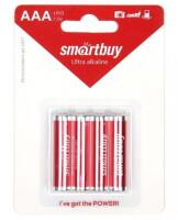 Батарейки Smartbuy Ultra AAA, BC4