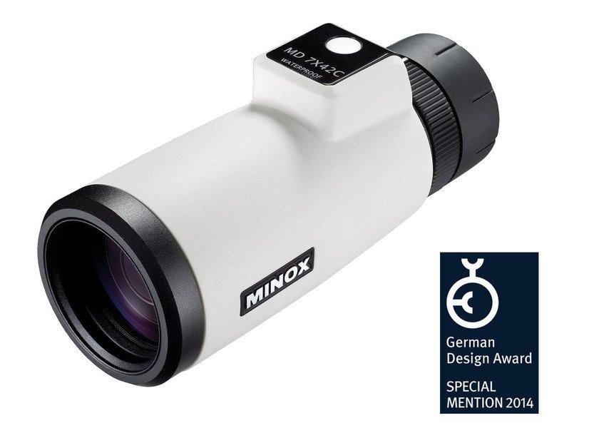 Монокуляр Minox MD 7x42 C, белый