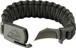 Нож-браслет Outdoor Edge черный, размер М PCK-80C