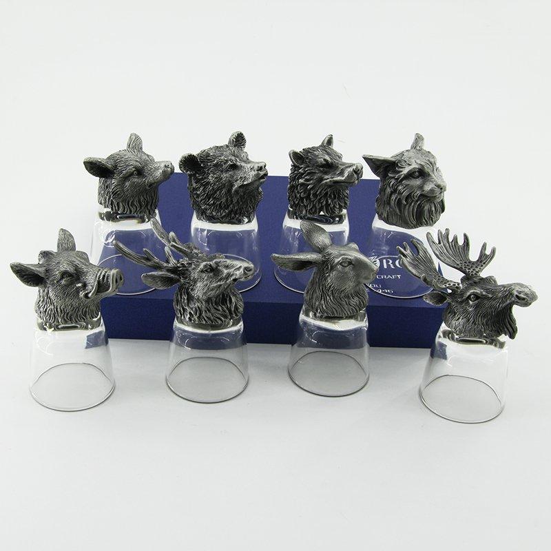 Набор из 8-ми стопок RORO дикие звери R-94699