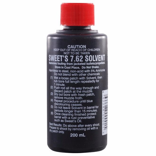Сольвент Sweet's 7,62 средство для борьбы с омеднением 200 мл