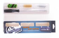 Набор для чистки ShotTime кал.16, для гладк.оружия, металлический шомпол + 3 ерша