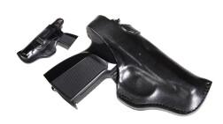 Кобура Vektor поясная формованная для ПМ из натуральной кожи со скобой