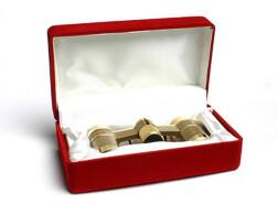 Подарочная коробка для театрального бинокля Veber Opera красная