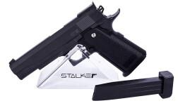 Пистолет пневм. Stalker SA5.1 Spring (аналог Hi-Capa 5.1), кал.6мм, мет.корпус, магазин 16шар, до 80м/с, черный