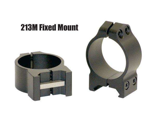 Кольца Warne 30 мм Weaver низкие 213M