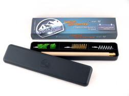 Набор для чистки ShotTime кал.12, для гладк.оружия, деревянный шомпол + 3 ерша, пластиковый пенал (50 шт./уп.)