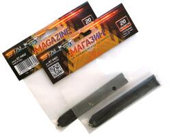 Магазин Stalker для пневматич.пистолетов модели S1911G/T и S84, кал. 4.5мм., емкость 20 шариков, металл
