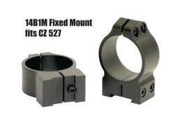 Кольца Warne CZ527 30 мм средние 14B1M