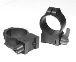 Кольца быстросъемные Warne CZ527 30 мм высокие 15B1LM