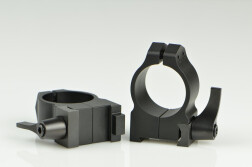 Кольца быстросъемные Warne 25.4 мм CZ-550 средние 1BLM