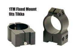 Кольца Warne TIKKA 25,4 мм средние 1TM