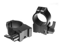 Кольца быстросъемные Warne TIKKA 25,4 мм высокие 2TLM