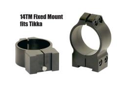 Кольца Warne TIKKA 30 мм средние 14TM