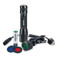 Фонарь для охоты Nextorch PA5 Set, выносная кнопка, кронштейн, светофильтры
