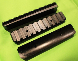Планка Weaver на цевье АК, САЙГА, САЙГА-410 (пластиковое цевье)
