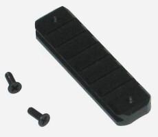 Планка на цевье МР-153 Weaver 80мм (пластиковое цевье)