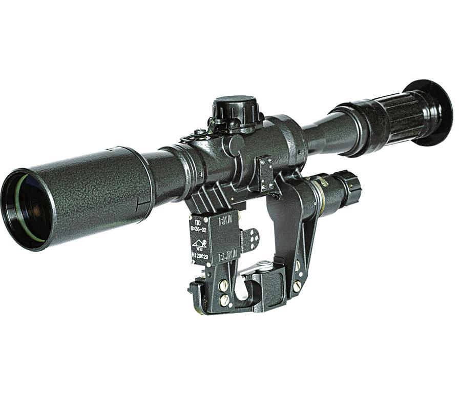 Прицел оптический НПЗ ПО 6x36 Sharp, Тигр, дальномерная