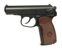 Пистолет пневматический Cybergun PM (Макаров), 4.5 мм, металл