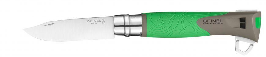 Нож Opinel N°12 Explore, зеленый