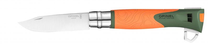 Нож Opinel N°12 Explore, оранжевый