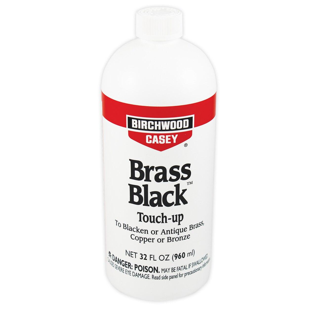 Средство для воронения по меди, латуни, бронзе Birchwood Brass Black 960мл