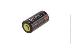 Аккумулятор LiFePO4 Soshine 16340 600mAh 3.2V PCB