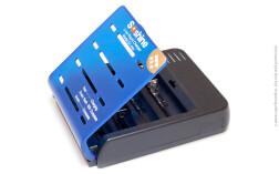 Зарядное устройство Soshine SC-S1 MIX V3 для литий-ионных аккумуляторных батарей