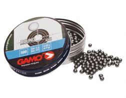 Пульки Gamo Round 4.5 мм, 0.53 г, 500 шт