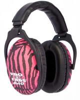 Наушники пассивные Pro Ears ReVO, розовая зебра