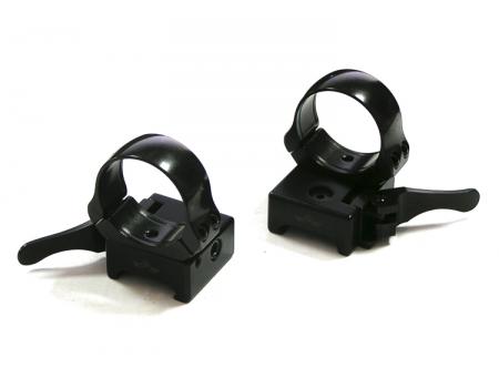 Быстросъемные кольца Apel-EAW на базу Picatinny, 30 мм, BH=12 мм, 365-65800