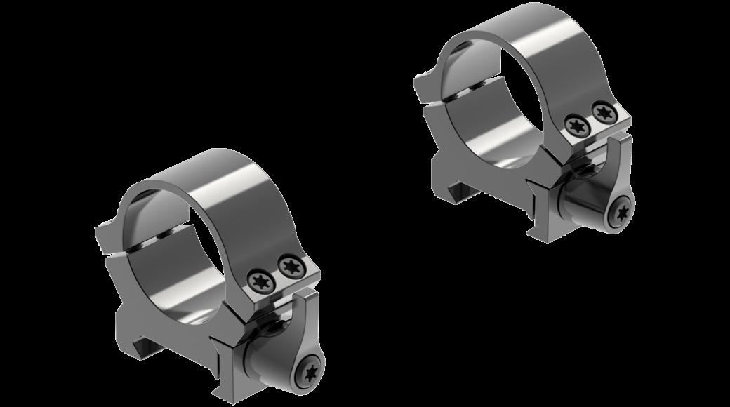 Кольца быстросъемные Leupold QRW2, 25.4мм, низкие, глянцевые