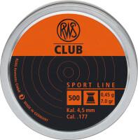 Пули RWS Club 0.45 г, 4.5 мм, 500 шт