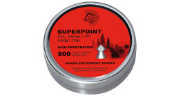 Пули Geco Superpoint 0.50 г, 4.5 мм, 500 шт
