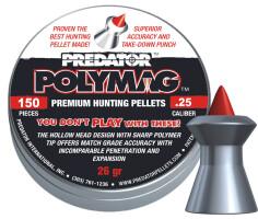 Пули Predator Polymag .25, 1.645 г, 6.350 мм, 150 шт