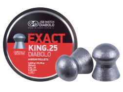 Пули JSB Exact King .25, 1.645 г, 6.350 мм, 350 шт